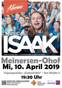 Adonia-Musical ISAAK - SO SEHR GELIEBT in Meinersen-Ohof