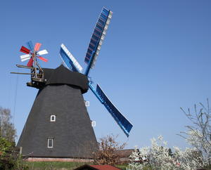 Start in die Mühlensaison 2019 - Windmühle Paula in Steinhude