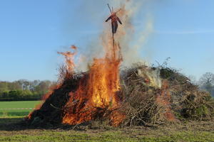 Osterfeuer Ohof am Samstag, 20.April 2019