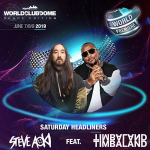 BigCityBeats WORLD CLUB DOME Space Edition in Frankfurt  Weltpremiere: Steve Aoki feat. Timbaland exklusiv beim  WORLD CLUB DOME live on Stage