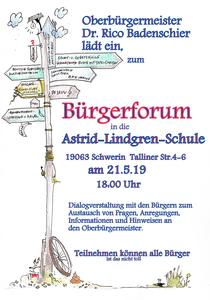 Bürgerforum in Neu Zippendorf