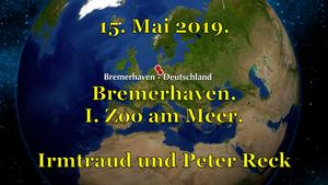 15. Mai 2019. Bremerhaven. I. Zoo am Meer.