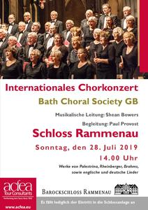 Bath Choral Society – Internationales Chorkonzert Barockschloss Rammenau