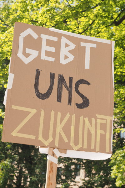 Fridays for Future in Augsburg am 24.05.2019 - vor der Europawahl