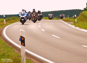 7. Charity Run der Hells Angels