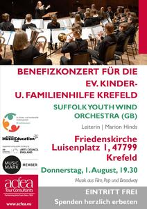 Suffolk Youth Wind Orchestra – Benefizkonzert Friedenskirche Krefeld