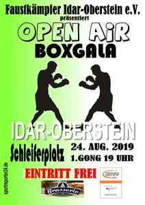 Open Air Boxgala, die traditionelle Gala in Idar-Oberstein