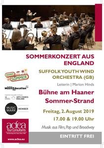 Suffolk Youth Wind Orchestra – Sommerkonzert Haaner Sommer