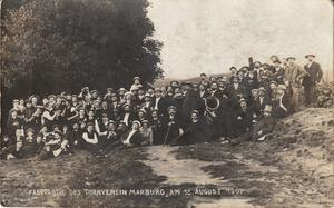 Fasspartie Turnverein Marburg 1907