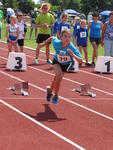 Juliana Kraus im 50 Meter Sprint
