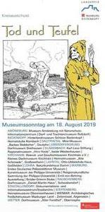 Museumssonntag am 18. August 2019