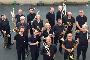 So., 25.08.19, 11.30 Uhr, TurmTerrasse Big Band Skyline