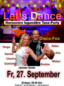Let´s Dance - Hannovers Tanzparty