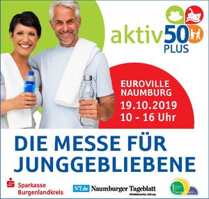 Messe 'Aktiv 50 plus' am 19. Oktober in Naumburg
