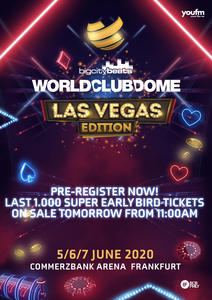 BigCityBeats WORLD CLUB DOME  Frankfurt 2020