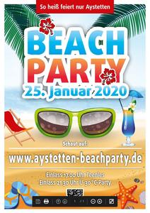 Beachparties in Aystetten