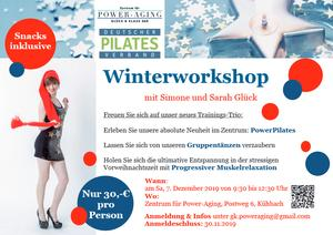 Winterworkshop Pilates 7.12.2019