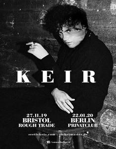 WELCOME NEW BRISTOL ARTIST KEIR - first single + Video 'Shiver' - out now