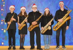 Musikschule Wertingen: Wonderful Christmas mit Saxofon