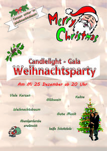 CandleLight - Gala - Weihnachtstanzparty