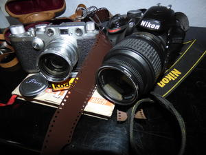Leica vs Nikon – analog vs digital