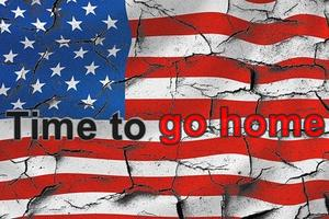 Mein Neujahrswunsch an die USA: It's time to go home!