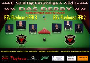 Snooker: Derby in Fürstenfeldbruck