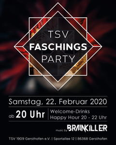 TSV Gersthofen Faschingsparty 2020