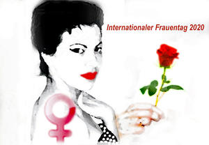 Internationaler Frauentag 2020,   Photoshop-Bearbeitung