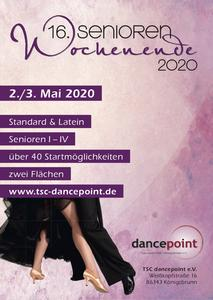 Internationales Senioren-Tanzturnier-Wochenende im dancepoint