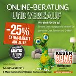 Online Beratung bei Keser Home Company
