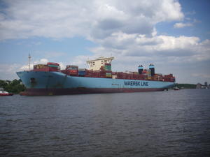 Containerschiff , Mary Maersk!
