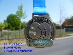 Stay at Home Marathon Hannover