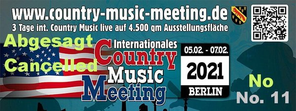 Corona-Folgen:  Internationales Country Music Meeting 2021 abgesagt