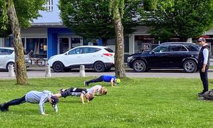 Outdoortraining in Königsbrunn am Rathausplatz