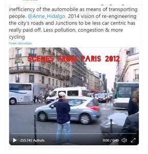 450.000 Klicks - PARIS im Video: Verkehr