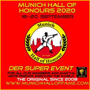 Kampfsportevent Munich Hall of Honours 2020