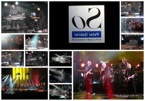 Collage, Peter Gabriel 2014 in Hannover !