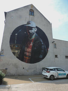 Crystal Ship Tour - Street art in Ostende (Belgien)
