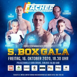 5. BOXGALA FÄCHERSPORT in Karlsruhe