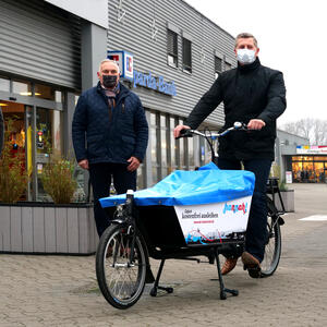 E-Lastenrad in Seelze am E-Center