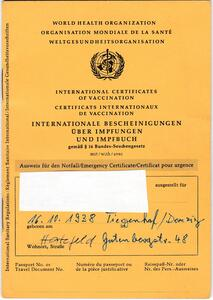 Internationale Impfbuch!