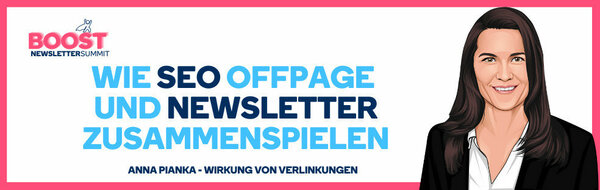 SEO OffPage-Workshop beim NEWSLETTER BOOST SUMMIT 2021