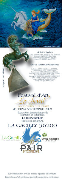 ART PAIR INTERNATIONAL in der Bretagne