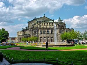 an der Semperoper