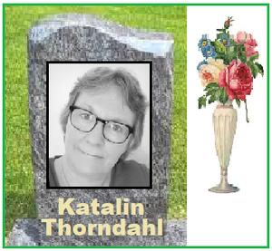 Katalin Thorndahl starb am 5. April 2020