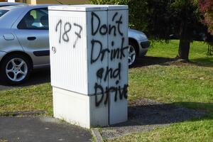 187 - Don't Drink and Drive.